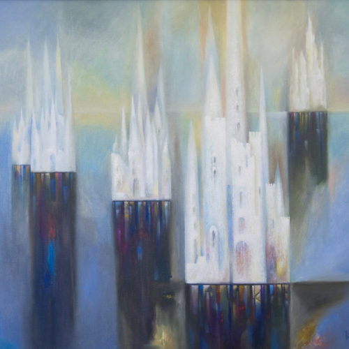 Ivory Towers (60х70) canvas, oil