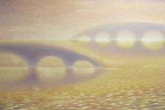 Мосты (80х100) холст, масло