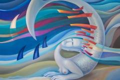 Sea Maiden (80х100) canvas, oil